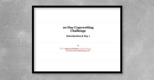 """Ebook """"10 Day Copywriting Challenge – Jimmy D. Brown"""" is available, If no download link, Please wait 24 hours. We will process and send the link directly to your email."""