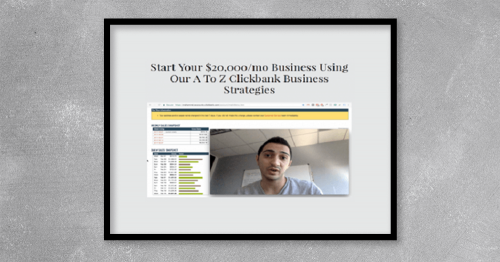Start building your Clickbank business from here using proven strategies as fast a possible with help of super affiliates…