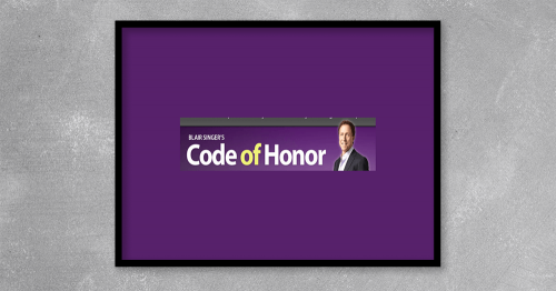 Team Code of Honor from Blaine Singer at Kingzbook.com