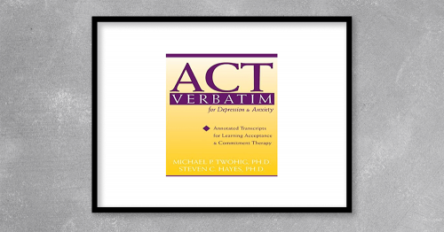 This collection of transcripts, organized and annotated by Michael P. Twohig and acceptance and commitment therapy (ACT) founder Steven C. Hayes, guides you through ACT-based therapy processes session-by-session. The transcripts featured in ACT Verbatim present common situations that arise in clinical practice, while the commentary explains how to identify the six target ACT processes and help clients work through them to achieve psychological flexibility.