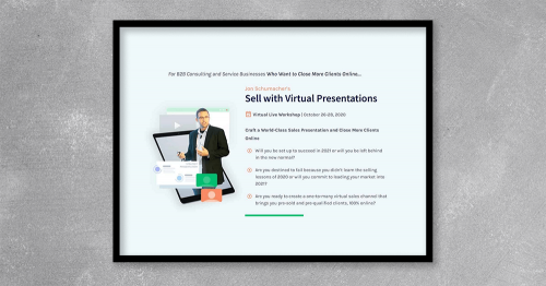 Sell with Virtual Presentations by Jon Schumacher at Kingzbook.com