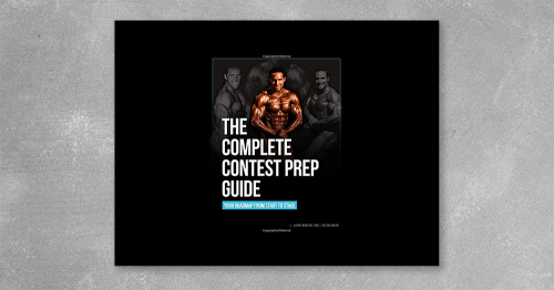 """The Complete Contest Prep Guide"""" by Layne Norton at Kingzbook.com"""