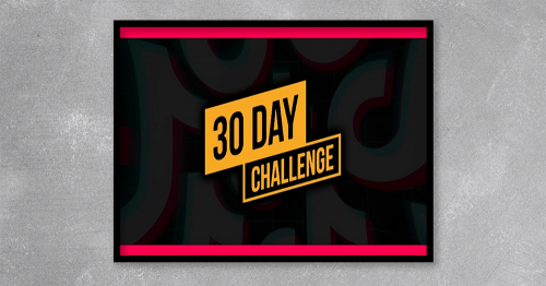 30 Day Challenge from Michael Sanchez