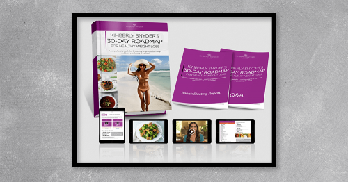 Kimberly Snyder's 30 Day Roadmap For Healthy Weight Loss A comprehensive meal plan and coaching program to lose weight and boost your beauty and wellness
