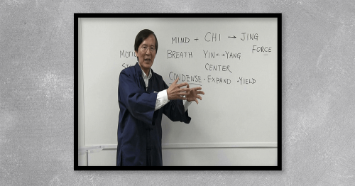 In this advanced-level teaching, Master Liao diagrams the real method of condensing breathing and what it really means