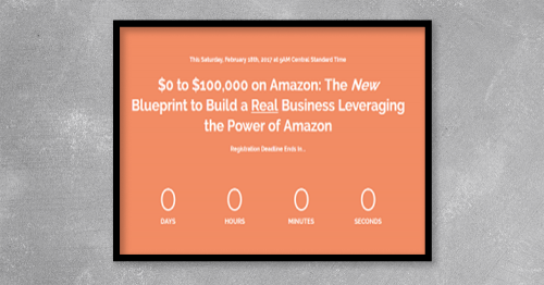 Discover the step-by-step process to building your own real business to $100,000 and beyond leveraging Amazon.com.