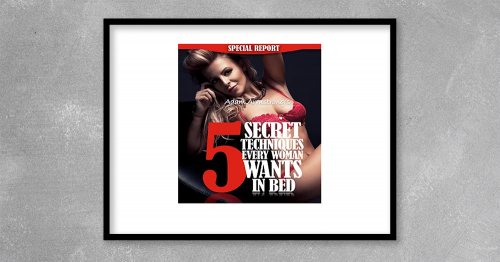Adam Armstrong-5 secret techniques that every woman wants in bed (7 ebooks-PDF)