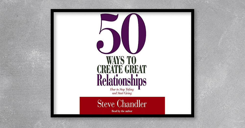 50 Ways to Create Great Relationships is full of practical advice for developing deeper and more satisfying relationships.