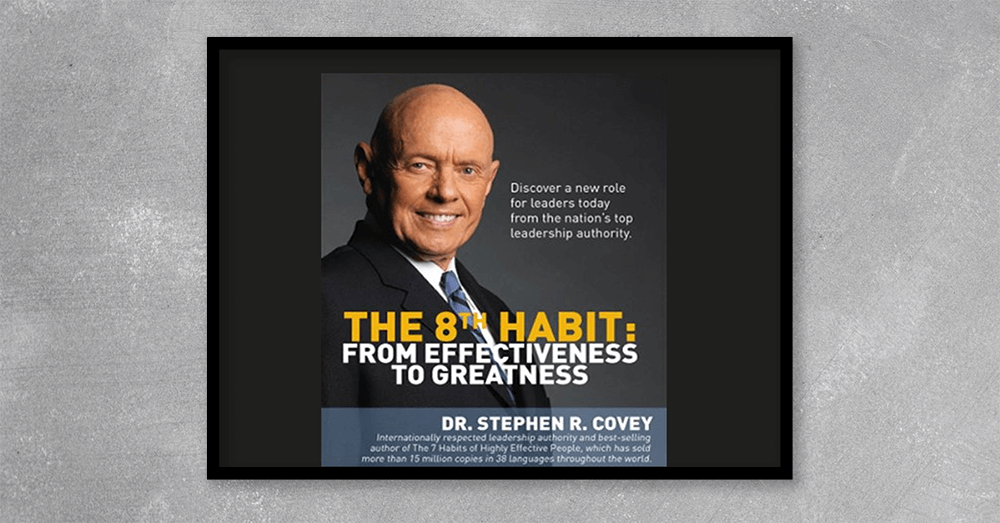 Stephen Covey already defined the seven habits of effective leaders. Now The 8th Habit is revealed! In this compelling presentation, Dr. Covey pushes leaders to be not only effective, but truly great. In this live presentation, learn from the most respected source on leadership how to: