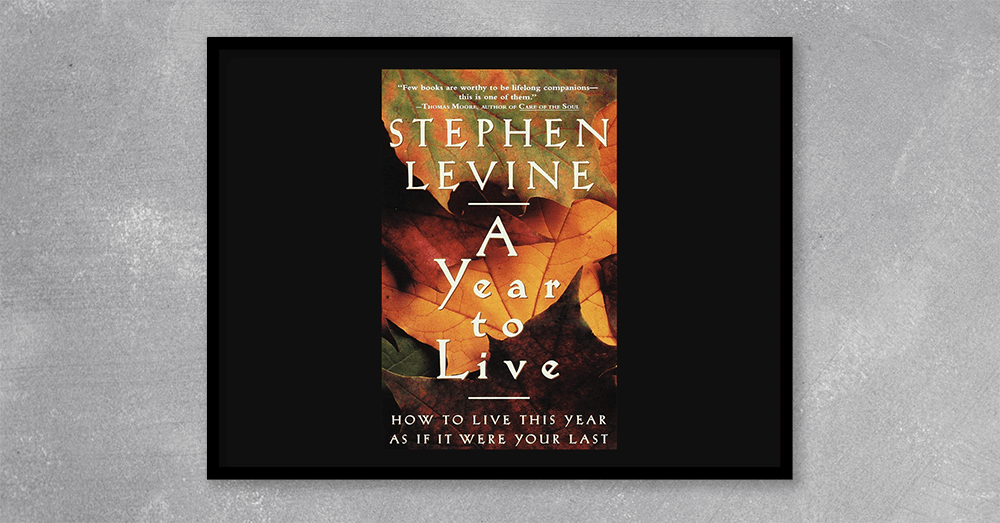 In his new book, Stephen Levine, author of the perennial best-seller Who Dies?