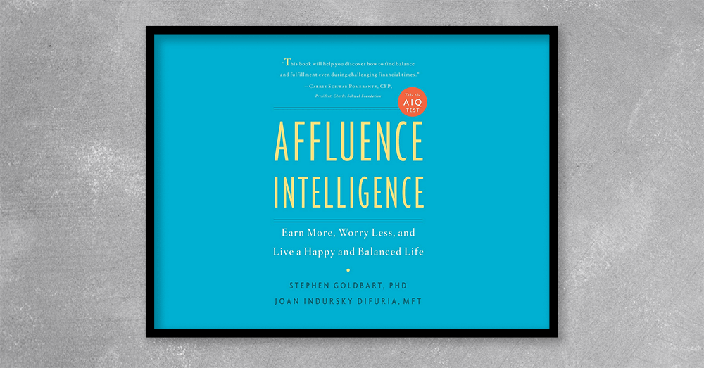 The book includes a test to determine your Affluence Intelligence Quotient (AIQ), and a step-by-step program to raise that AIQ in just three months, for more money, more security, and more joy. Affluence Intelligence is for everyone who suspects they are devoting too much time to worrying about finances and too little time to living life.