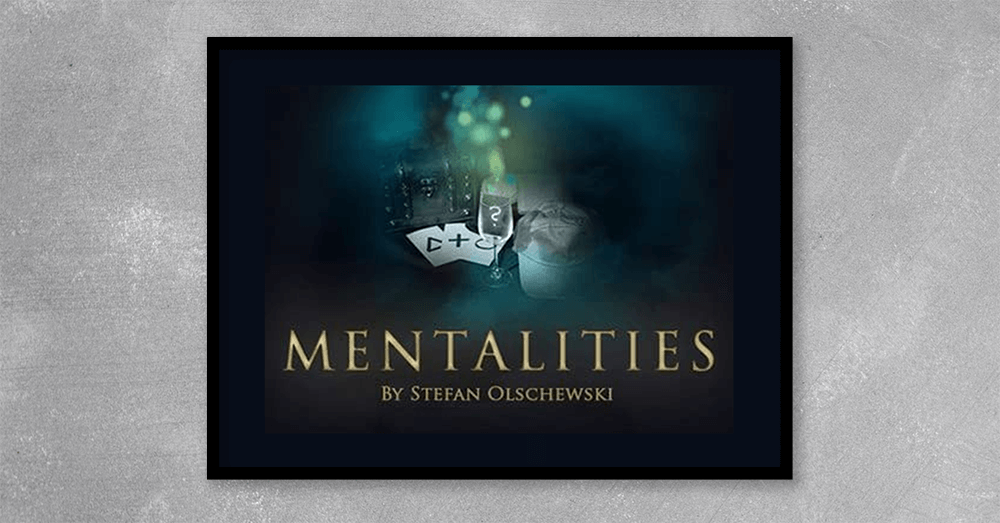 Get to know one of Germany's top mentalists and multi-award winner with this amazing 2 DVD set. MENTALITIES by Stefan Olschewski presents a complete, one hour show, filmed in front of a live audience.