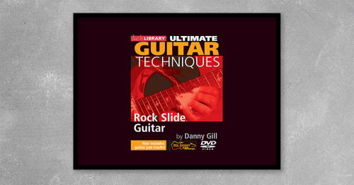 Danny Gill takes an in-depth look at the art of slide guitar from the rockers point of view. Along with licks, scale patterns, open tunings and chord shapes, Danny demonstrates many of the techniques shared by the greats including vibrato, intonation, muting and phrasing.