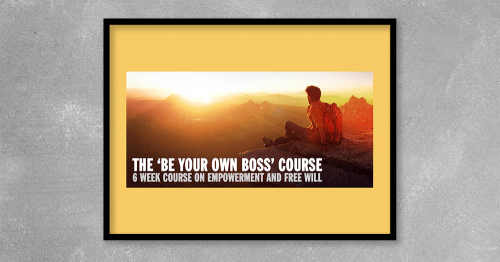 Be Your Own Boss Course by Kris Dillardat Kingzbook.com