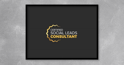 Certified Social Leads Consultant from Cory Sanchez at Kingzbook.com