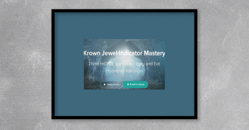 Krown Jewel Indicator Mastery by Eric Crow at Kingzbook.com