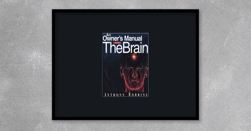 Owner's Manual for The Brain by Tony Robbins at Kingzbook.com