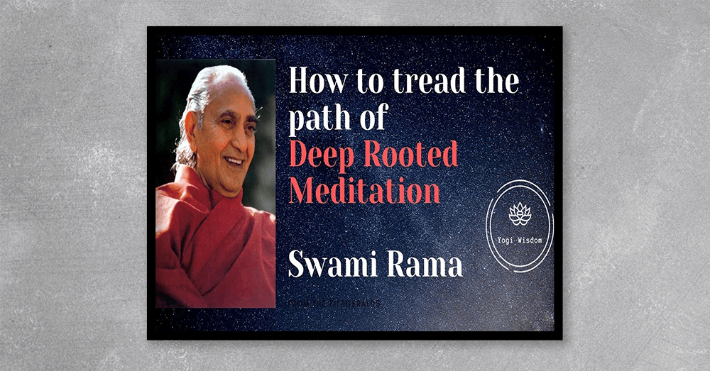 Acquire the wisdom of the Himalayan sages from the comfort of your home. In this revealing and insightful DVD, Swami Rama provides clear understanding into the process and method of meditation and its importance in daily life. His insights into the function of mind, how it relates to the senses and thoughts, and the value of self-awareness help to prepare the foundation for meditation. Take the journey within and find serenity, balance, and inner peace.
